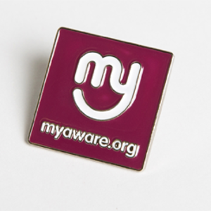 myaware Pin Badge